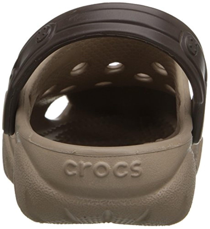 Crocs Swiftwater K Unisex Kids' Clogs - Beige (Mushroom/Espresso), 3 UK (34-35 EU)
