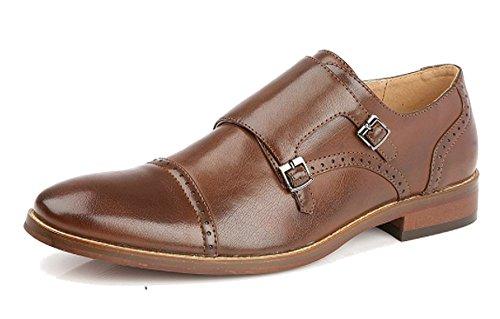 Formal Foderato In Oxblood Smart Due Brown Monk Goor Shoes 12 6 Mens Black Fibbie Pelle 7wnxn