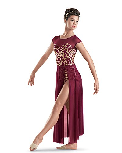 Salsa Costume Danse (ballet costumes dress for children leotards women dance leotard dancewear tutu danse classique adulte prom dresses (red,)