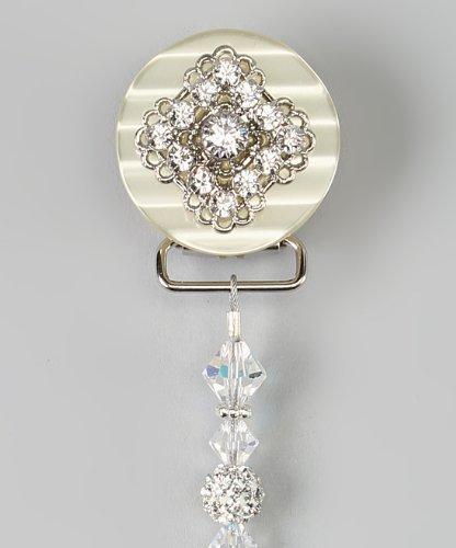 Crystal Dream lujo rosa Cristales de Swarovski y perlas de ...