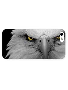 3d Full Wrap Case For Ipod Touch 5 Cover Animal Bald Eagle38