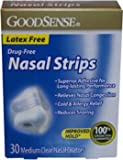 Good Sense Nasal Strips Medium Clear Case Pack 36