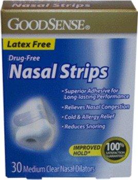 Good Sense Nasal Strips Medium Clear Case Pack 36