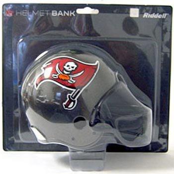 NFL Riddell Tampa Bay Buccaneers Plastic Helmet Bank