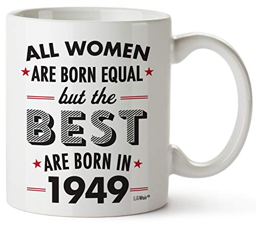 70th Birthday Gifts For Women Seventy Years Old Gift Mugs Happy Funny 70 Womens Womans Wifes Female
