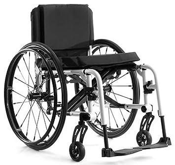 Amazon.com: Titanio silla de ruedas plegable (tilite Aero X ...