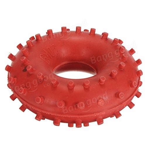 Bazaar Une nouvelle force de 40 kg dispositif de préhension de la main bague en caoutchouc de la poignée rouge