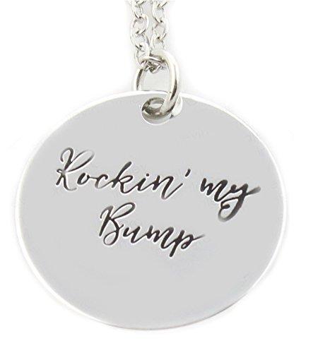 Fashion Jewelry ~ Rockin My Bump Pendant Necklace (LN204 mf)