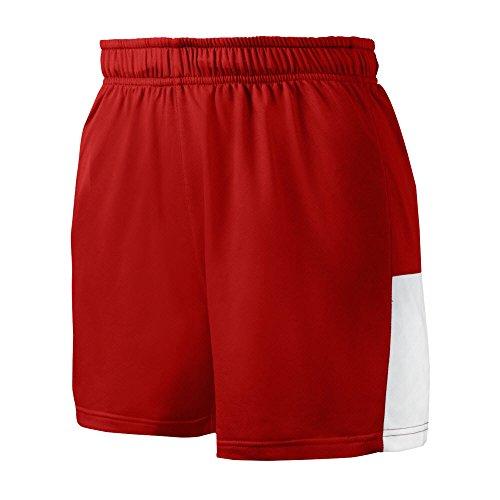 Mizuno 350590.1000.05.M Women's Comp Training Short M RED-WHITE ()