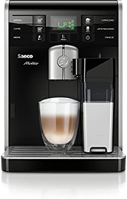 Saeco Moltio HD8769 - Cafetera (Independiente, Negro, De plástico, 230 V, 50 Hz, 256 mm)