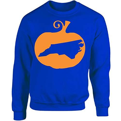 Halloween North Carolina - Adult Sweatshirt 5XL Royal ()