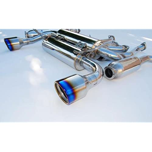 Invidia Hs03ig3gid Gemini Catback Exhaust System With Titanium Rolled Tip For Nissan G35 Coupe: Manzo Exhaust G35 At Woreks.co