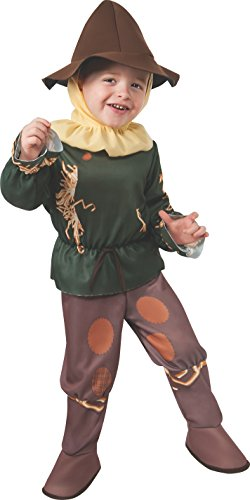 [Rubie's Costume Baby's Wizard Of Oz 75Th Anniversary Scarecrow Toddler Costume, Multi, Toddler] (Toddler Vampire Halloween Costumes)