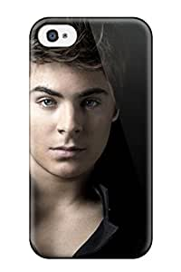 Cute Appearance Cover/tpu Zac Efron Case For Iphone 4/4s