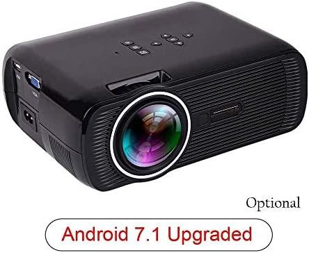 YXNN Proyector LCD Proyector Portátil con Resolución HD De ...