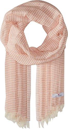 Love Quotes Women's Linen Cotton Narrow Stripe Blush/White One Size