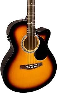 fender fa 135ce cutaway concert acoustic electric guitar 3 color sunburst musical. Black Bedroom Furniture Sets. Home Design Ideas