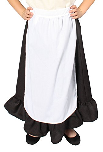 Alexanders Costumes Girls Apron, One Size, White ()