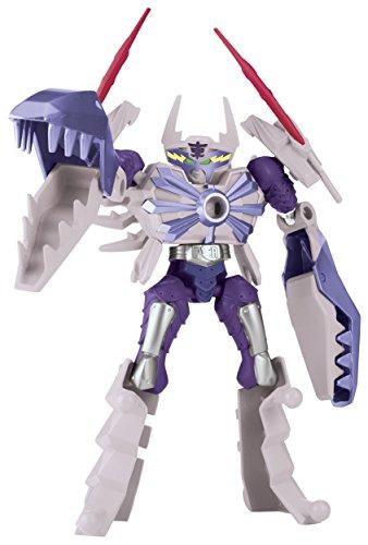 harge - Mixx N Morph Samurai White Claw Rangerzord Action Figure (Dino Claw)
