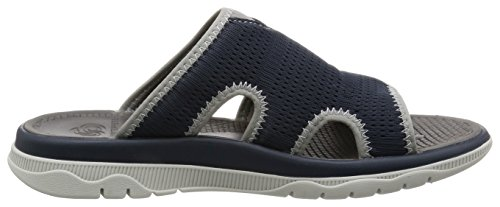 Clarks Freizeit Herren Balta Ray Textil Sandalen In Blau