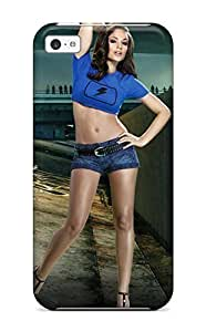 High Impact Dirt/shock Proof For Iphone 4/4S Case Cover (maxim Girl For Blur Game)