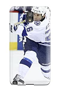 New Snap-on DanRobertse Skin Case Cover Compatible With Galaxy Note 3- Tampa Bay Lightning (30)