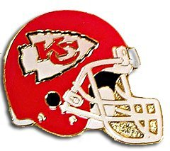(NFL Kansas City Chiefs Helmet Pin)