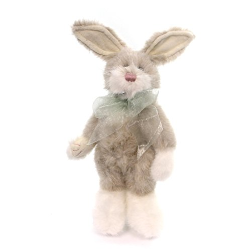 "Wholesale Boyds Bears 11"" Plush White/Tan Rabbit Buffie Bunnthop 522700-03"