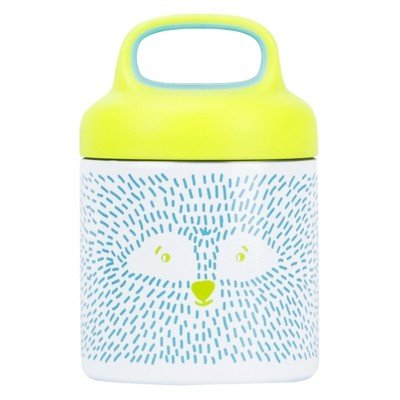 Reduce 10oz Stainless Steel Critter Food Jar Blue/Green White
