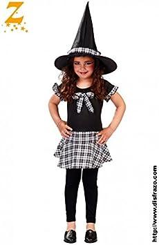 Disfraz de bruja colegiala (10-12 años): Amazon.es: Juguetes y juegos