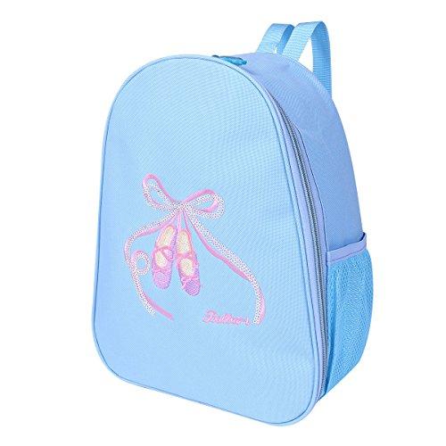 Sports Bag Backpack Iefiel Blue personalizzato Dance Girl Ballet ricamato For Princess Neonato qIwEU