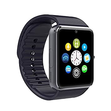 SmartWatch GT08 SIM+SD+BLUETOOTH Negro: Amazon.es: Electrónica