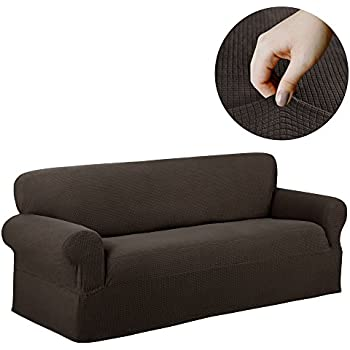 Amazon Com Maytex Reeves Stretch 1 Piece Sofa Furniture