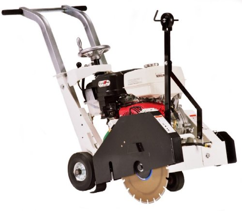 Diamond Products 88915 Core Cut CC1213HS-14 Portable Walk Behind Concrete Saw with Honda Gas Engine and 14