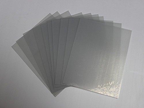 PictureFrameFactoryOutlet Wholesale Lot Clear Petg Styrene Plexiglass (10 Sheets), 24'' x 36'', Piece