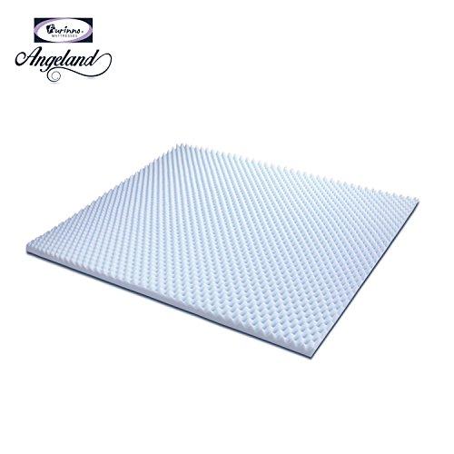 Furinno 2-Inch Egg Crate Gel HD Foam Mattress Topper, Soft,