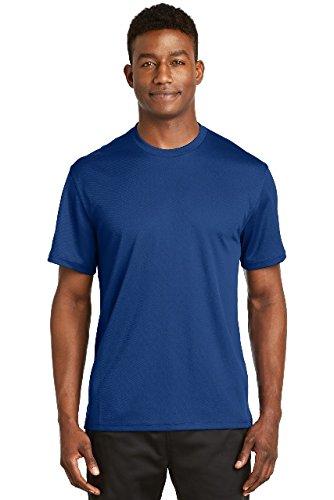 Sport Tek Mesh Shirt (Sport-Tek Dri-Mesh Short Sleeve T-Shirt. K468 Royal L)