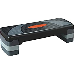 "KLB Sport 31"" Adjustable Workout Aerobic Stepper in Fitness & Exercise"