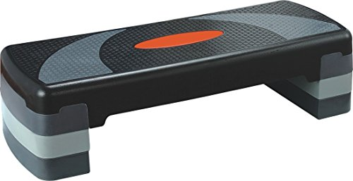 "Price comparison product image KLB Sport 31"" Adjustable Workout Aerobic Stepper In Fitness & Exercise"