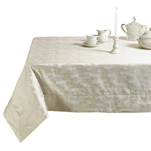 Violet Linen Elegant Victoria Damask Design Tablecloths, 70
