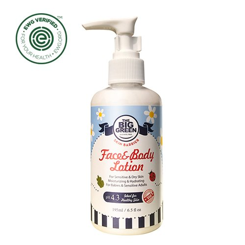 Big Green Baby Face and Body Lotion 6.5 fl oz.-Natural-Plant