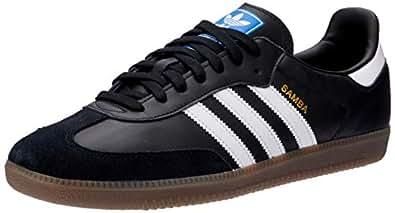 adidas Australia Men's Samba OG Trainers, Core Black/Footwear White/Gum, 6.5 US