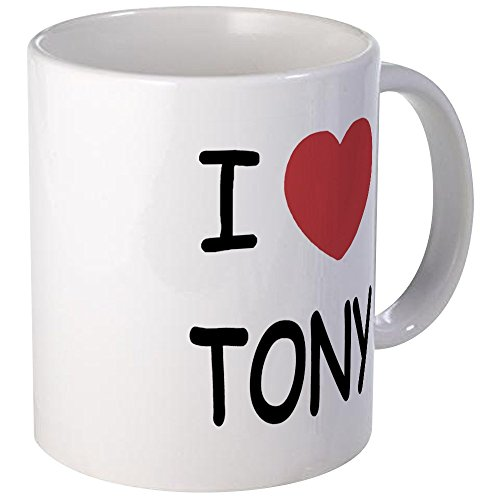 Tony Mug - Unique Coffee Mug, Coffee Cup (Tony Stewart Heart)