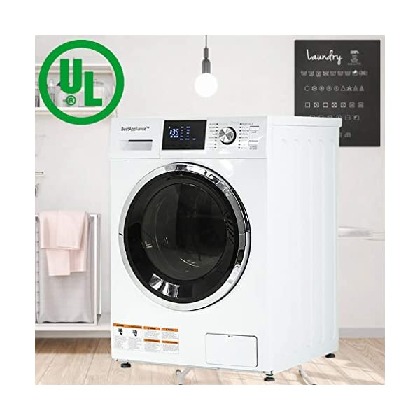 BestAppliance Washer Dryer Combo Combination Washing Machine Turbo Wash 2.7Cubic....