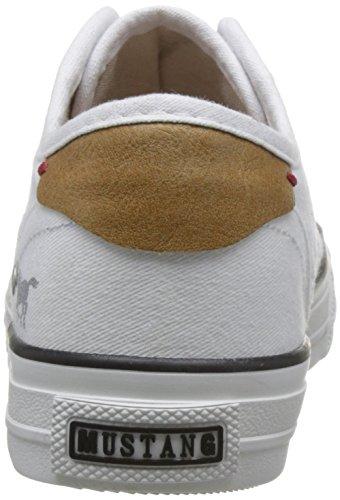Baskets 1 Femme Mustang Enfiler Blanc 1272 1 401 Weiß qwX8SPt