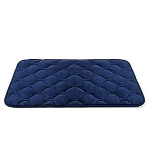 Hero Dog Dog Bed Mat Washable - Soft Fleece Crate Pad - Anti-slip Matress for Small Medium Large Pets by HeroDog
