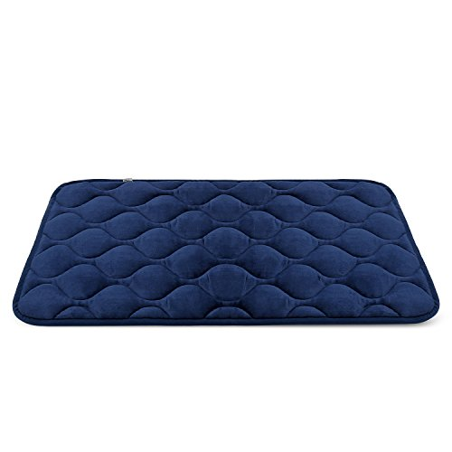 Dog Bed Mat Washable – Soft Fleece Crate Pad – Anti-slip Matress for Small Medium Large Pets by HeroDog