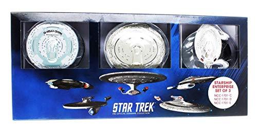 Star Trek Diecast - Star Trek Enterprise Die-Cast Vehicle 3-Pack #1 with Magazine