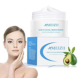 AMEIZII Daily Facial Moisturizer Anti-Wrinkle Cream Natural Materials Snail Moist Nourishing Skin Care Moisturizer Anti-Aging Essence Face Cream