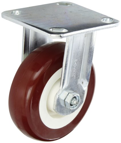 Justrite 16043 4 Piece Heavy Duty Caster Set, 5'' Diameter, 2000 lbs Capacity, For Specialty Cabinets by Justrite